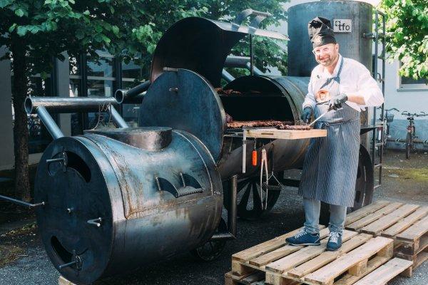 Maschinenbau: Smoker XXL 2015