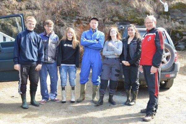 Schüleraustausch: Norwegen - Südtirol 2013