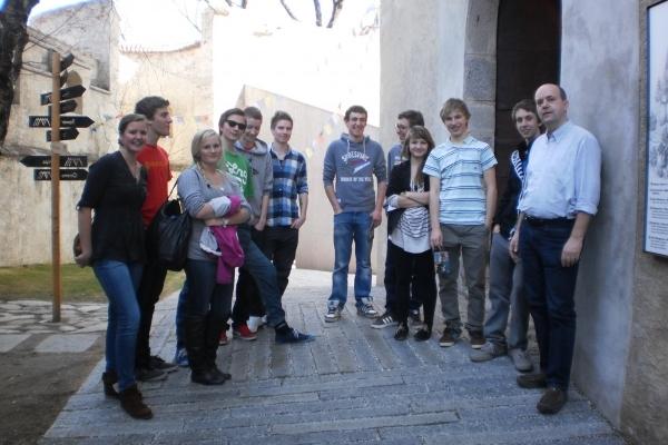 Schüleraustausch: Südtirol - Norwegen 2012