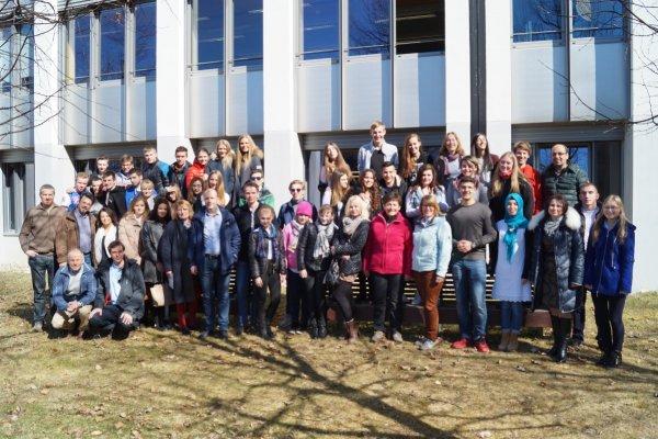 Erasmus-Projekttreffen, Bruneck 2015
