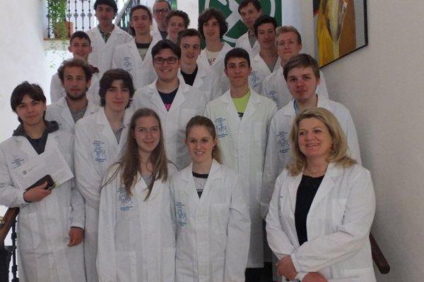 Südtiroler Chemieolympiade, 2014