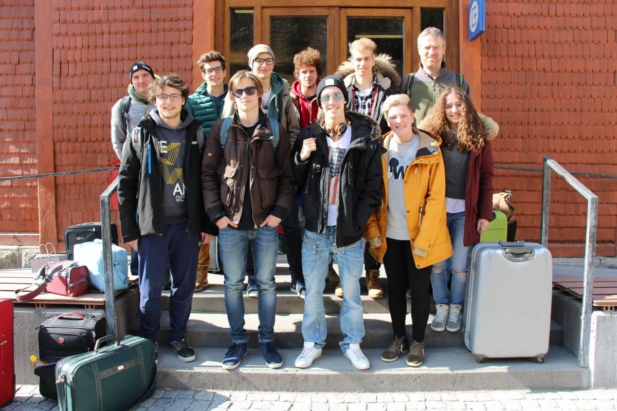 01. Bahnhof Franzensfeste, Gruppenfoto