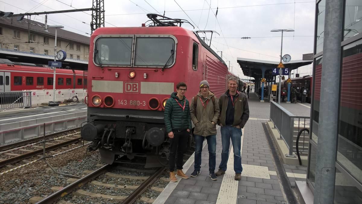 03. Deutsche Bahn, betriebsbesichtigung