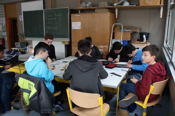 14. Realschule am Goldberg, Unterricht (5)