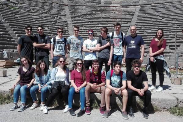 Erasmus-Projekttreffen, Athen 2017