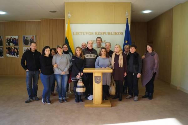 Erasmus-Projekttreffen, Kelme 2016