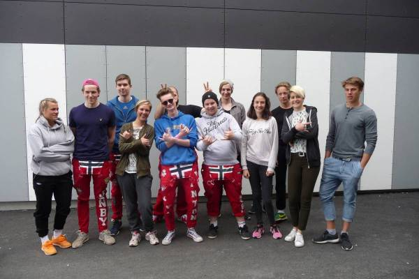 Erasmus-Schülerreise, Norwegen 2017