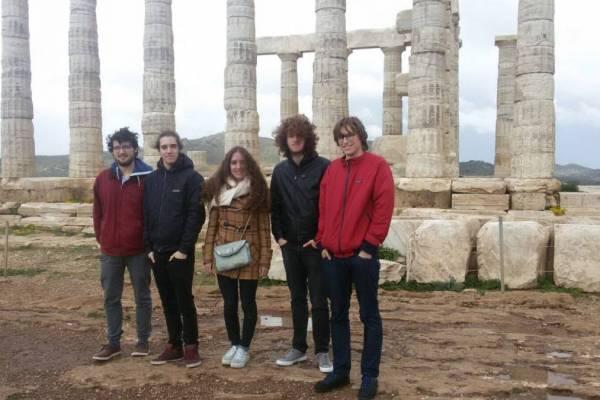 Erasmus-Schülerreise, Griechenland 2017