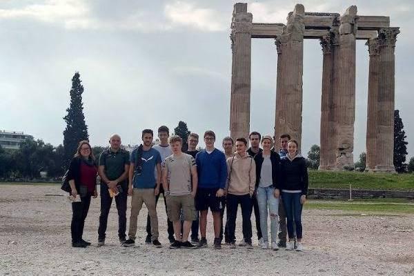 Erasmus-Schülerreise , Griechenland 2018