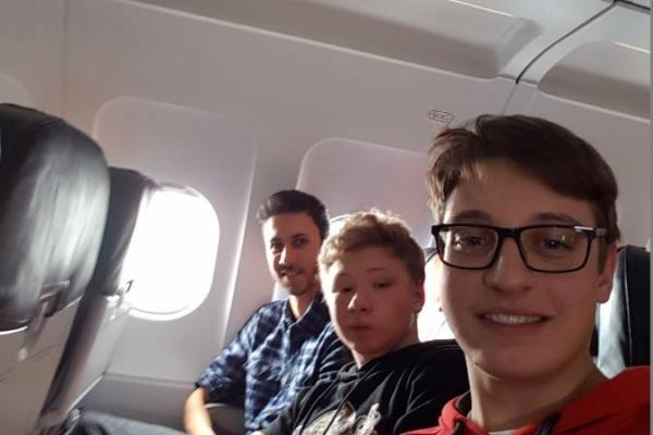 02. Flugreise 1