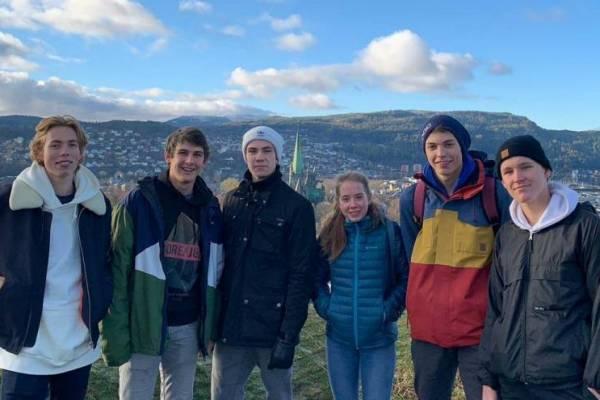 Erasmus-Schülerreise, Norwegen 2018