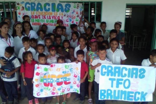 """Gracias, TFO Bruneck"""